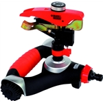 Irrigatore ad impulso ad alta resistenza  su base con ruote