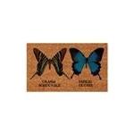 Zerbino in cocco farfalle